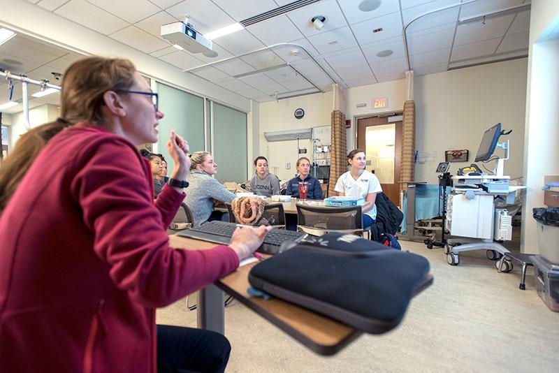 UConn PhD nursing Program